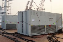 2000KVA Resistive Reactive Load Bank For Tianjin Xingang Shi